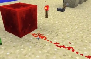 Live Redstone Wire Powered by Redstone Block