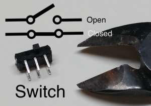 Switch with Symbol