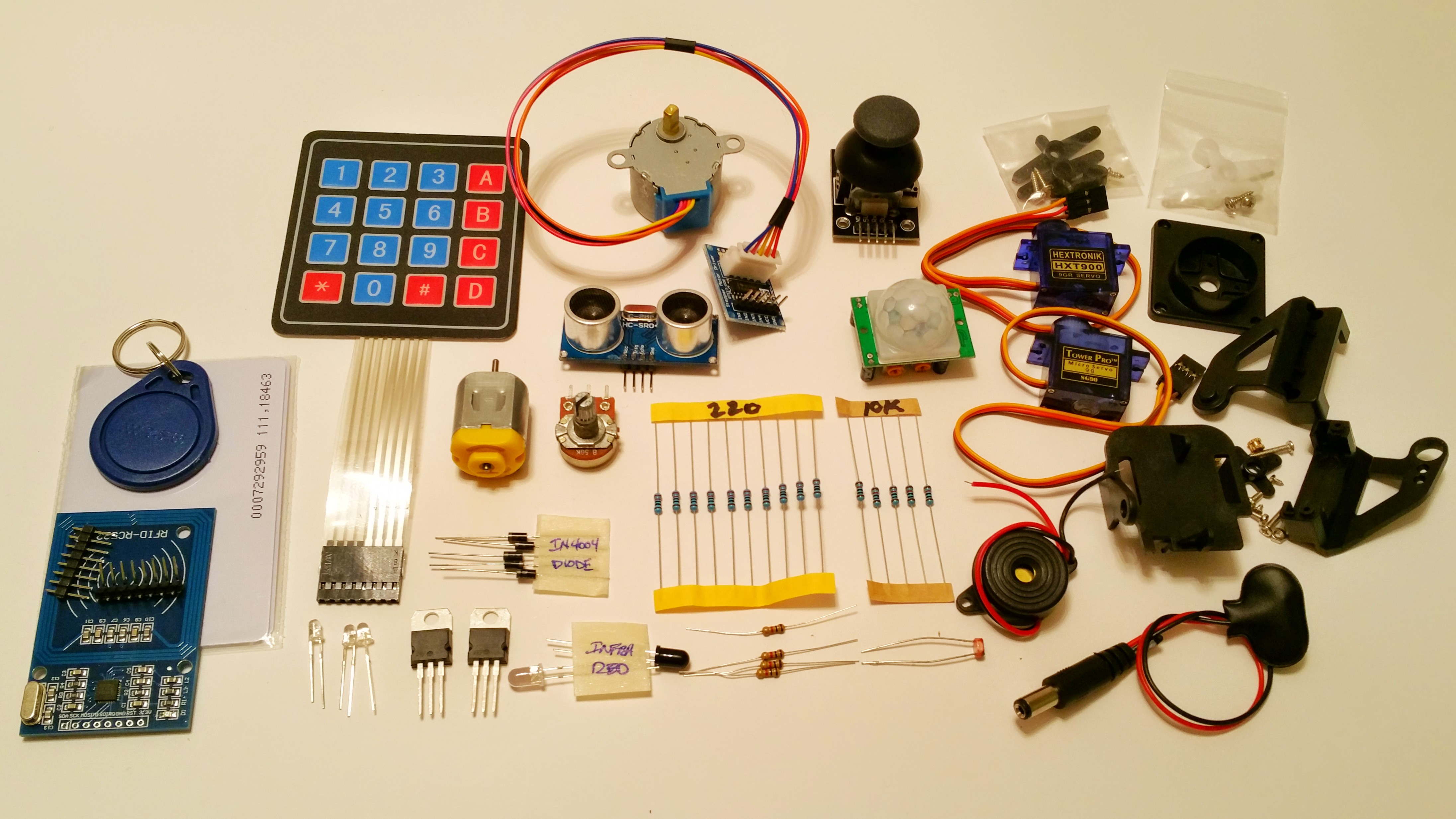 Handbook Kit 03 Motion Sensor Soldering Sunday Electrical Wiring Arduino Project Motor And